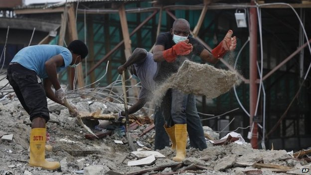 Pictures: When TB Joshua`s Synagogue Church Collapsed | News of the