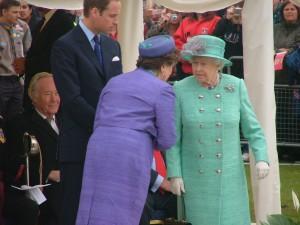 Queen Elizabeth II (Picture by Eugene Majuru)