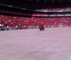Malema fills Orlando stadium