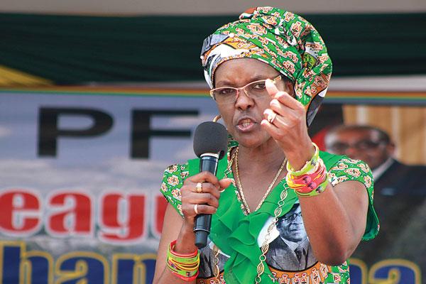 554669db848 Journalist Arrested Over Grace Mugabe Underwear Donation