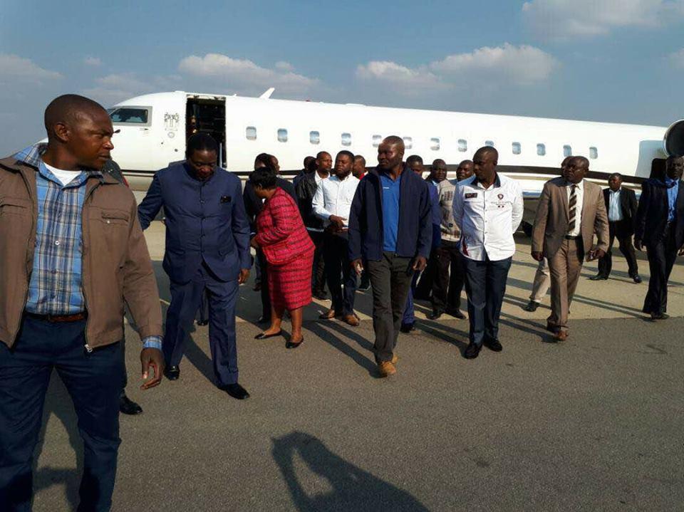 Mnangagwa Returns To Zimbabwe As Army Takes Charge of Harare | News